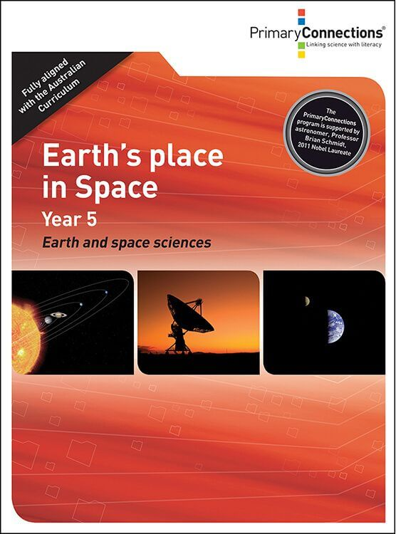 'Earth's place in space' unit cover image