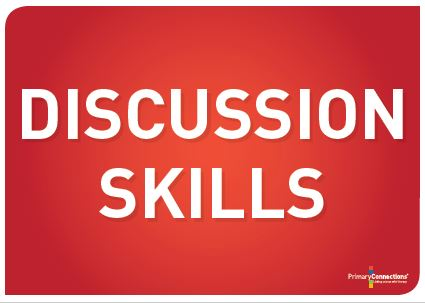 Discussion skills classroom display thumbnail